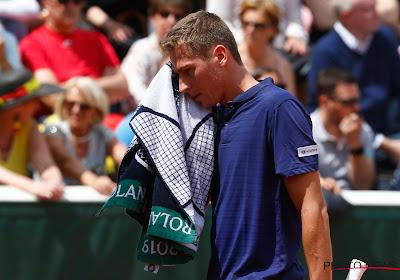 Kimmer Coppejans verloor zijn partij in de Davis Cup, nu is het aan Rubel Bemelmans