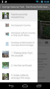 NPWS Self guided tours- screenshot thumbnail