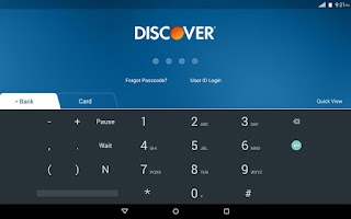 Screenshot of Discover for Tablet