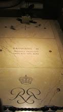 Photo: Tumba del Principe Rainero III
