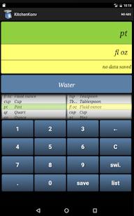 Kitchen Converter Screenshot
