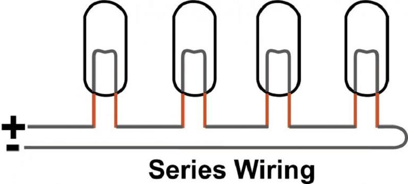 Mạch điện kết nối nối tiếp