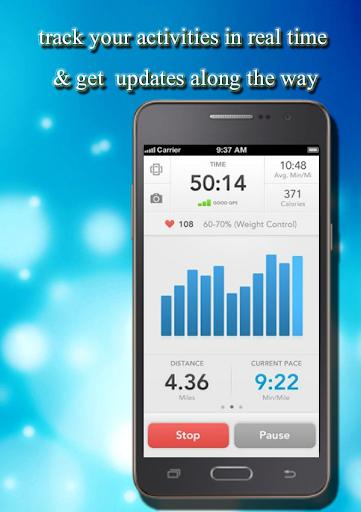 体育GPS跟踪器运行