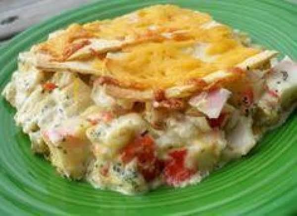 Crab Meat Casserole