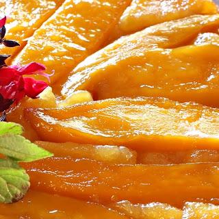 Mango Nectar Upside Down Cake (GF) (DF).