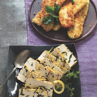 Roasted Lemon- Herb Tofu