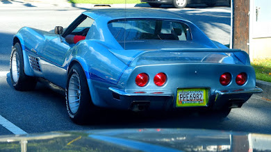 Photo: Caught this sweet Corvette Stingray a few minutes ago on the way home for #fourwheeledfriday Curated by +Annelies Kroen +Kimberly Tweed +Baba Schmitz +Eric Hege +Rob Hallifax +StPaul Herrmann +Akhil Kalsh