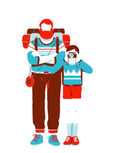 Hors piste - Tom Haugomat - Editions Thierry Magnier - Blog Illustration jeunesse - Illustre ALbert - Bookletter