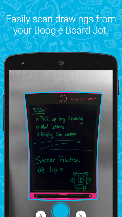 Boogie Board Jot- screenshot