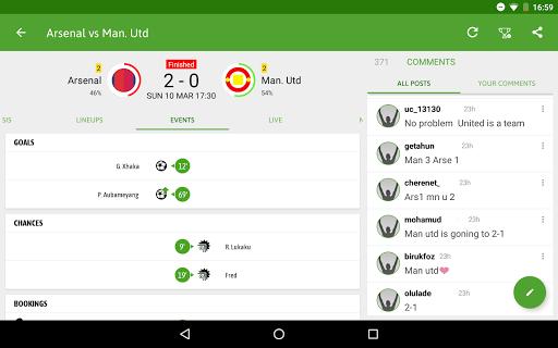 BeSoccer - Soccer Live Score screenshot 13