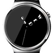 Minimal ambient watch face