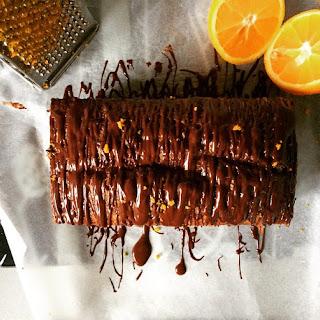 Low-FODMAP Jaffa Drizzle Cake