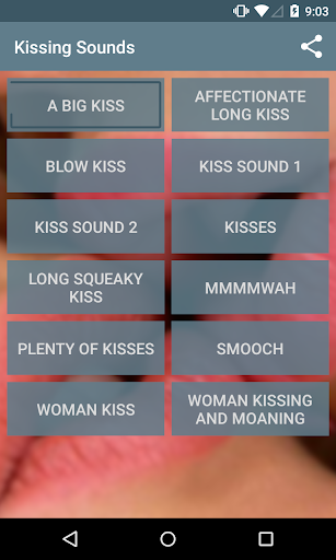 Kissing Sounds