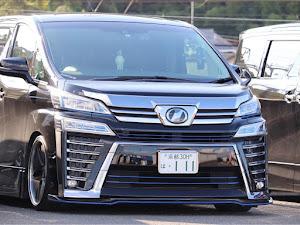 ヴェルファイア AGH30W 後期 Z-Gエディションのカスタム事例画像 あいうえ太田さんの2020年09月13日02:29の投稿