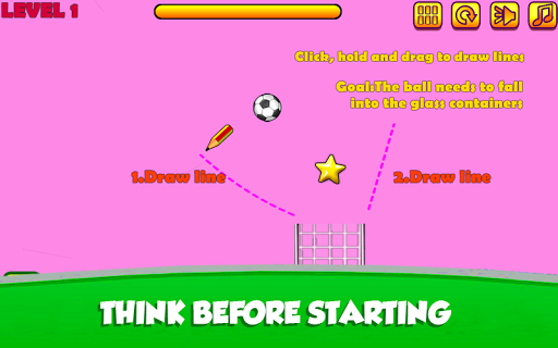 Soccer Drop Physic  captures d'écran 2
