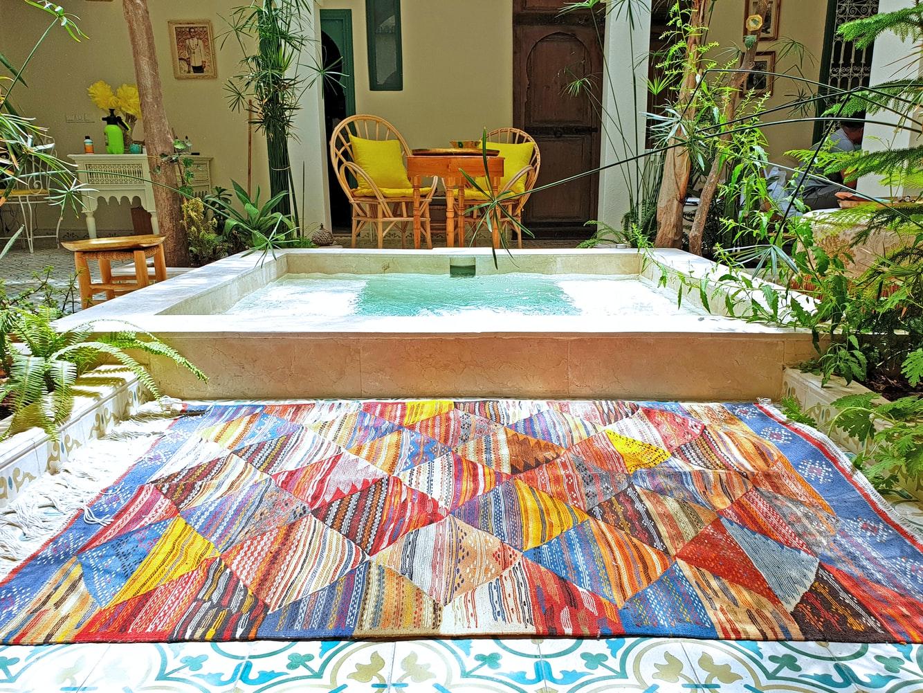 badrum i marockansk stil