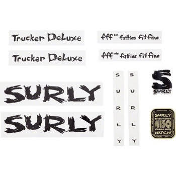 Surly Long Haul Trucker Deluxe Decal Set with Headbadge