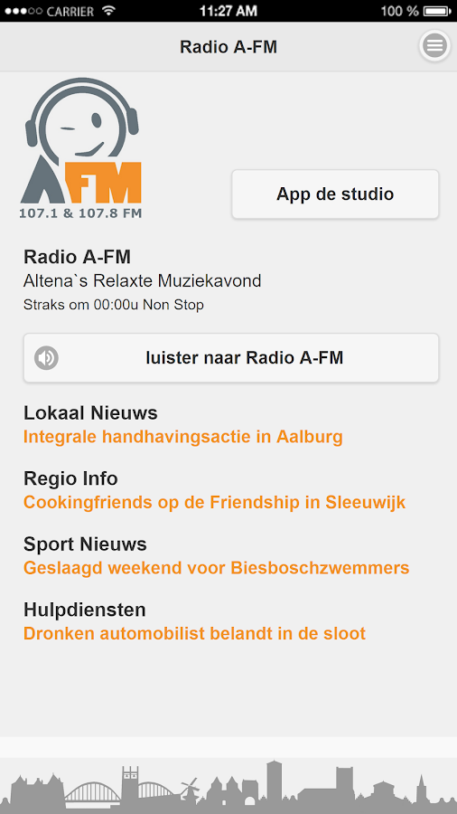 Radio A-FM- screenshot