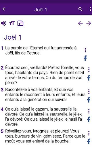 Bible en franu00e7ais courant 1.0 screenshots 14