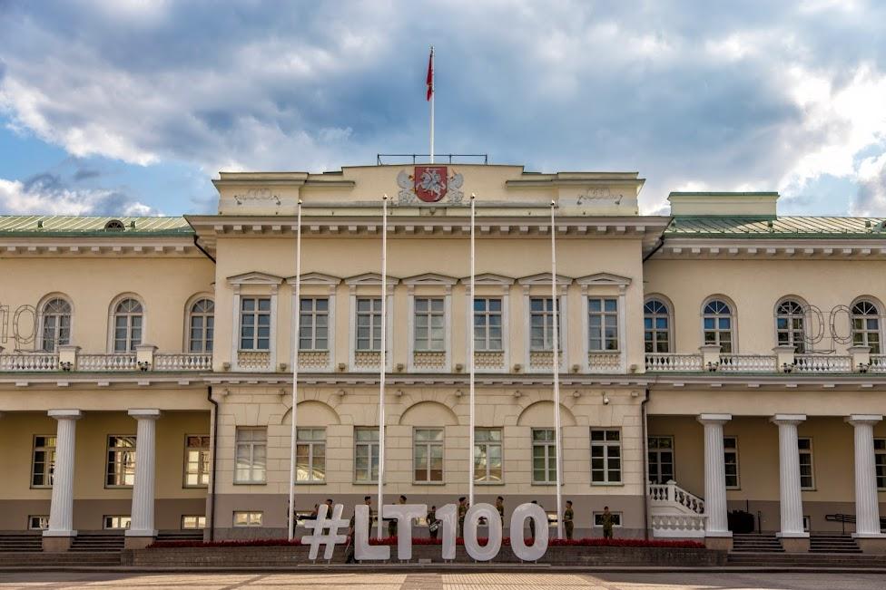 Wilno, plac Dowkonta, Pałac Prezydencki