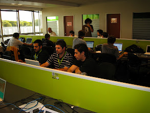 Photo: OpenSocial South America Tour - Argentina Hackathon at Globant office