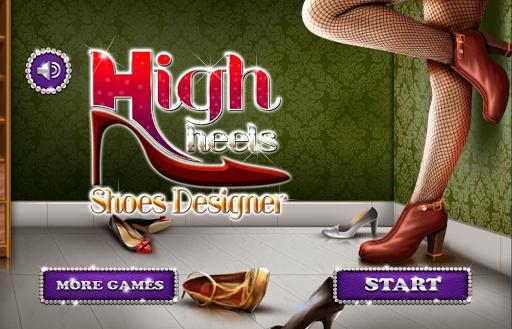ハイヒール 女の子のためのシューズ ゲーム ファッション 靴
