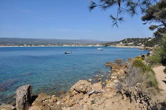 Photo: Sur le sentier littoral entre Saint-Cyr et Bandol (La Madrague - Pte Fauconnière)
