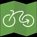 Geovelo Rennes icon