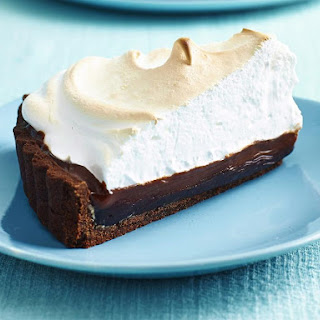 Double Chocolate Meringue Pie