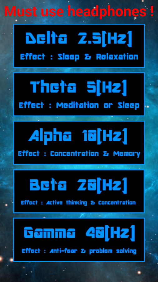 Chakras Binaural Beats- screenshot