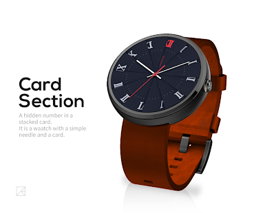 Card Section watchface by DesignerKang- screenshot thumbnail
