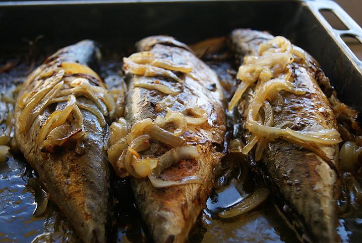 Oven-Baked Mackerel with Roasted Potatoes Recipe