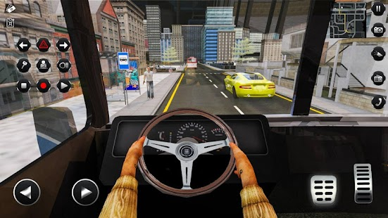 Passenger Bus Taxi Driving Simulator Screenshot