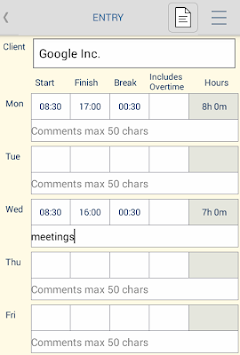 download timesheet pdf apk latest version app for android devices