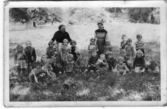 Photo: Óvodások, 1954/55