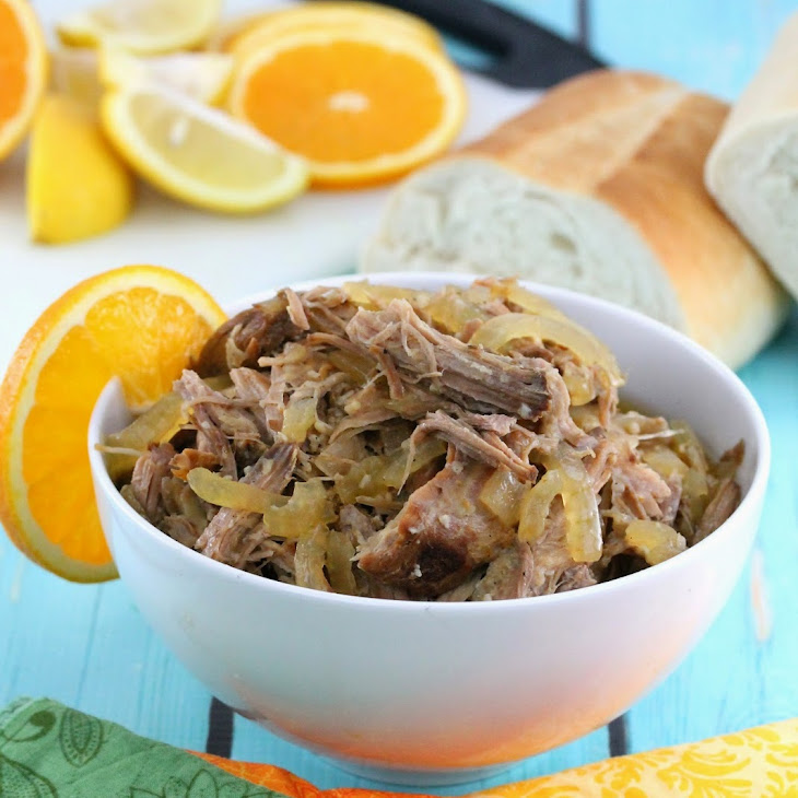Slow Cooker Cuban Mojo Pork Recipe | Yummly