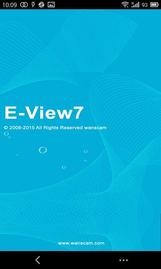 E-View7 – Capture d'écran