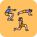 Squat Lunge Plank 30 Day Challenge icon
