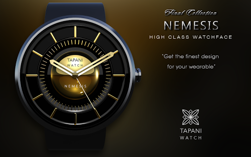 Nemesis weather watch face  screenshots 6