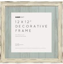 Kaisercraft Frame 12X12 - Antique White Distressed