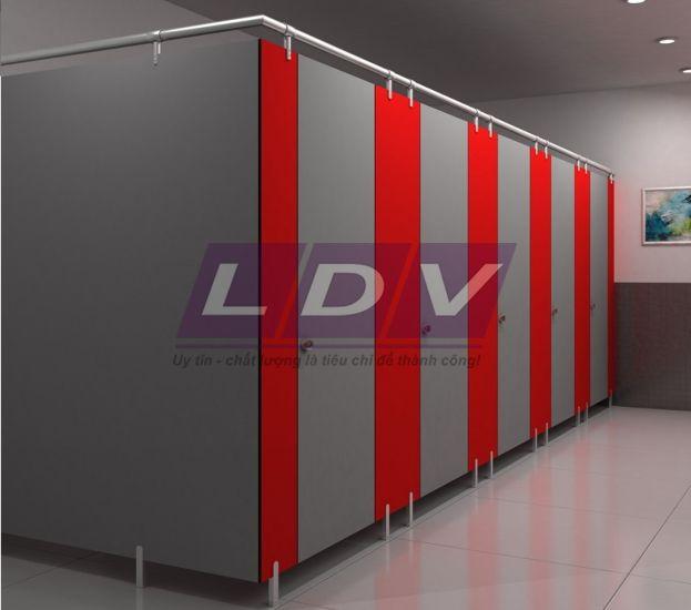 vách ngăn vệ sinh LDV