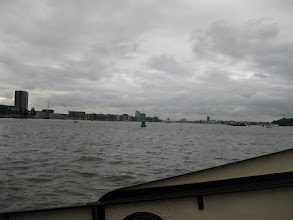 Photo: Amsterdam, here we come