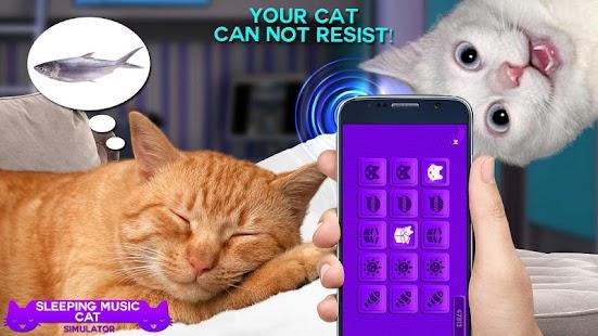 Sleeping Music Cat Simulator - náhled