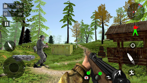 World War Firing Squad: Fire Free  FPS Shooting 19  screenshots 4