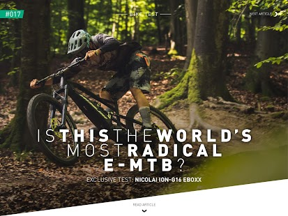 E-MOUNTAINBIKE Magazine- screenshot thumbnail