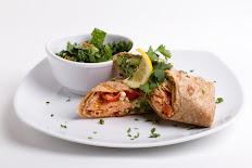 Balsamic Dijon Salmon Wrap
