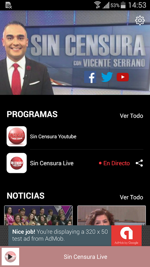 Sin Censura- screenshot