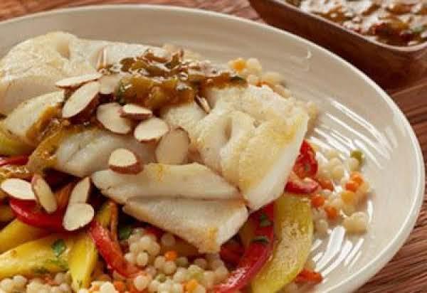 Alaska Cod Moroccan Style With Mango Carrot Slaw Recipe