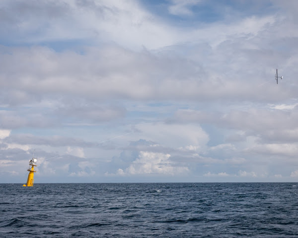 Makani's airborne wind power system takes flight offshore