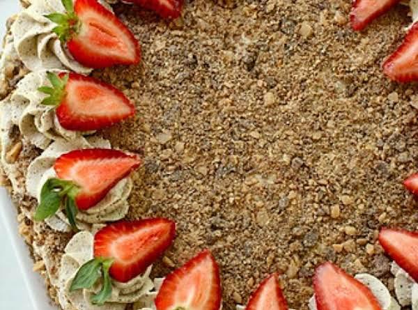 Toffee Bar Brownie Torte Recipe